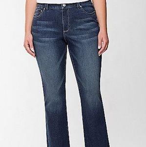 Lane Bryant | Genius Fit  Slim Boot Jeans Size 14P